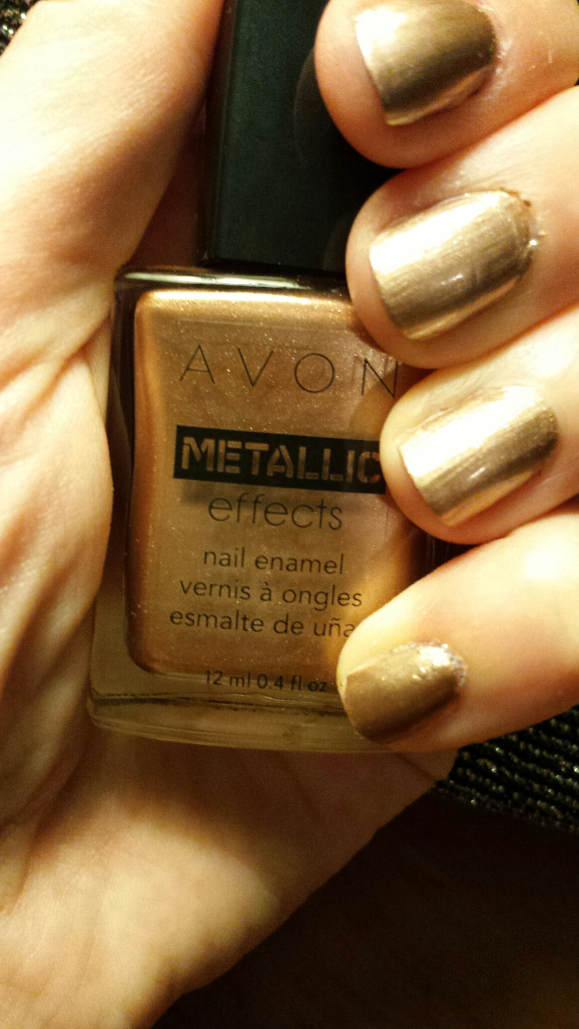 Mani time! Avon Metallic effects. Sneak Peek!